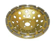 Diamond grinding cup wheel DT-175-MBT-C gold